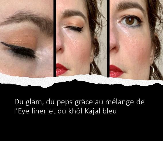 Visuel du look glam