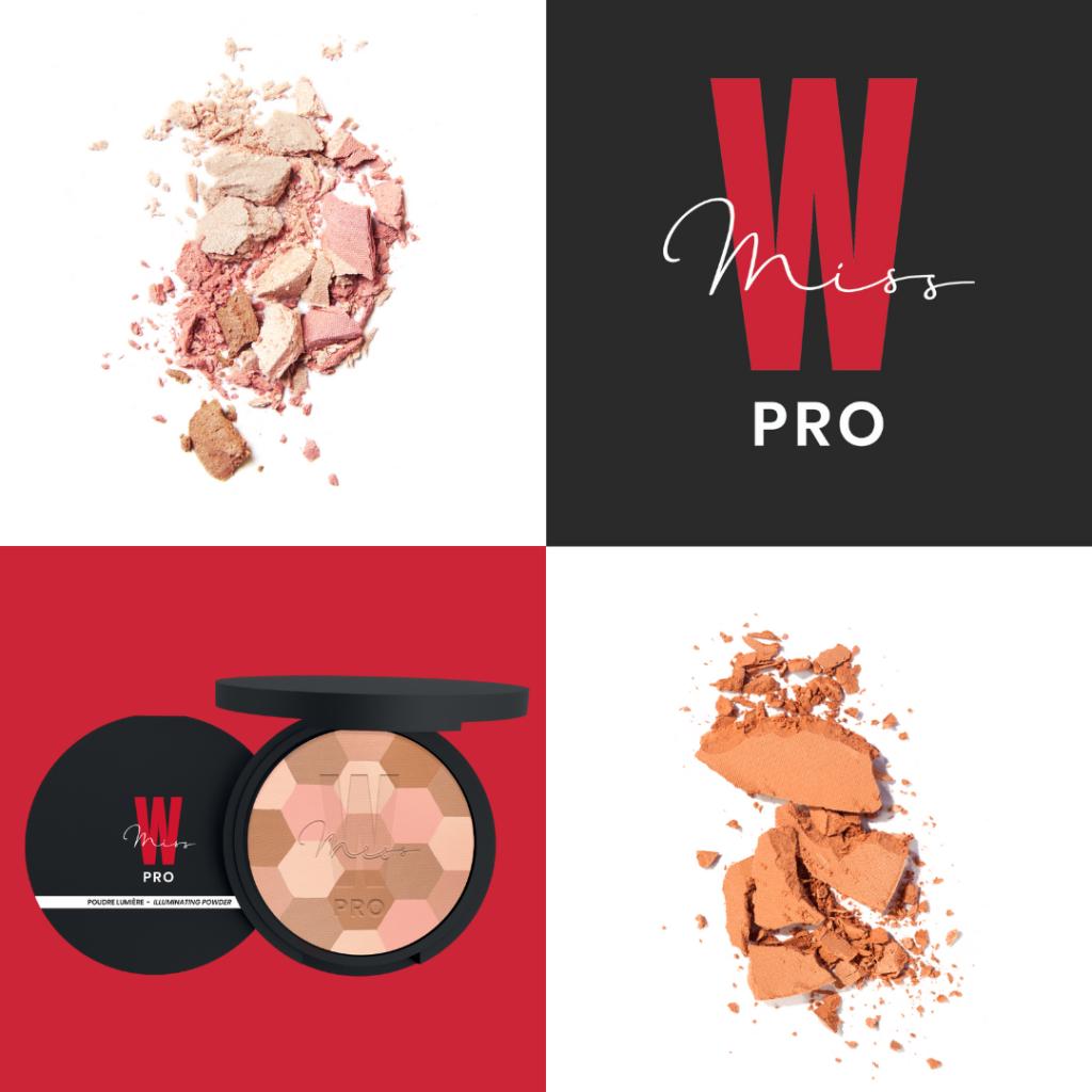 logo et visuel de produits Miss W